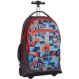 Подростковый рюкзак на колесах Chiemsee Плюс и Минус