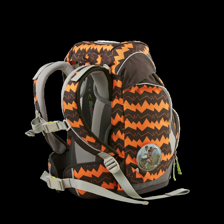 Рюкзак Ergobag BEAReferee с наполнением + светоотражатели в подарок, - фото 4