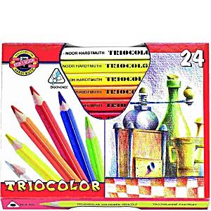 Цветные карандаши Koh-i-Noor трехгранные Triocolor d=5.6мм