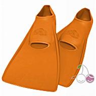 Ласты для бассейна резиновые детские размеры 29-30 оранжевые ПРОПЕРКЭРРИ (ProperCarry)